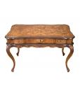 Bureau style vénitien L.122 cm, bureau classique, bureau style classique en bois