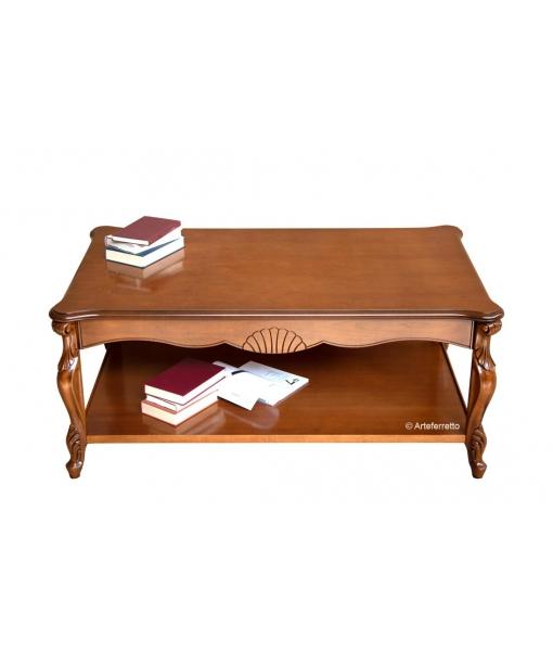 Table basse de salon rectangulaire réf. P-031-A