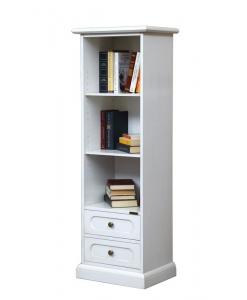 Bibliothèque colonne petite largeur, meuble bibliothèque petite dimension, meuble bibliothèque petite taille, petite bibliothèque